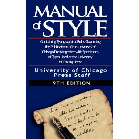 chicago manual of style app