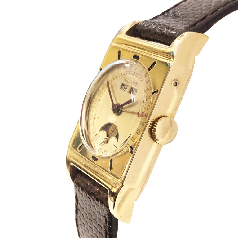 1940s jaeger lecoultre manual wind watch