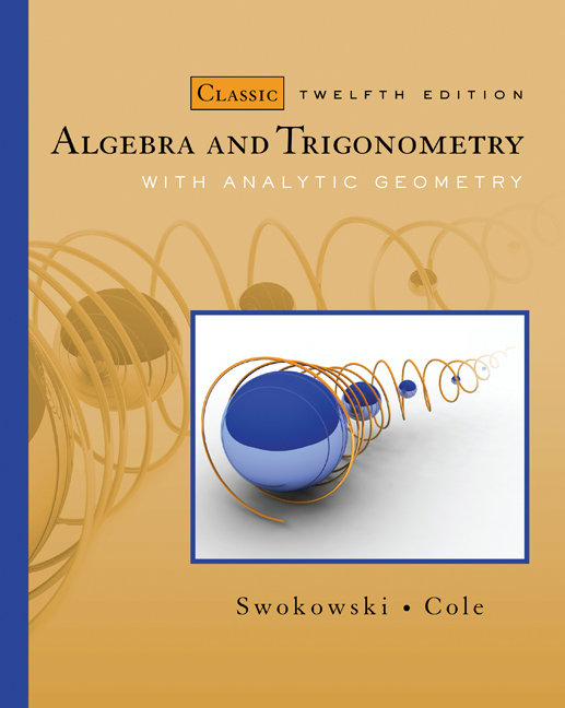 precalculus an investigation of functions solutions manual