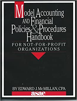 not for profit policies and procedures manual