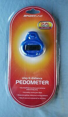 sportline step and distance pedometer manual